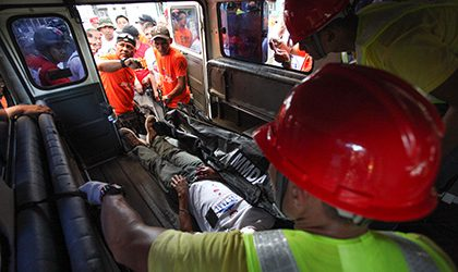 В родном городе президента Филиппин произошел взрыв