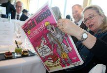 Charlie Hebdo выпустил карикатуру на землетрясение в Италии с лазаньей из трупов