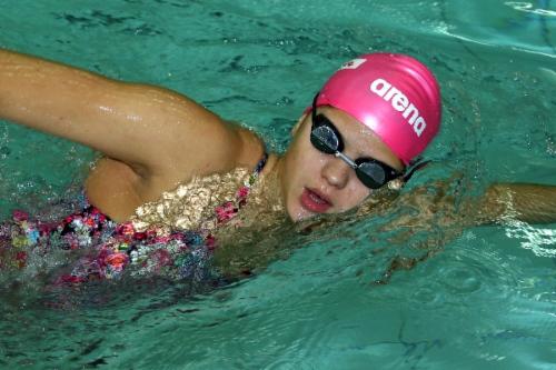 Оренбурженка Мария Каменева хорошо проплыла свой этап всмешанной эстафете