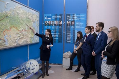Экскурсии дляучастников конференции вкомплекс выставочных залов ООО«Газпром трансгаз Ухта»