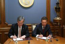 «Газпром» иKOGAS подписали Соглашение осотрудничестве