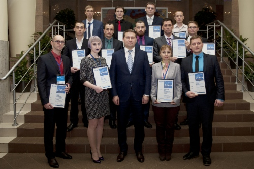 Лауреаты VIII Научно-практической конференции после церемонии награждения