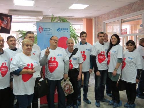 Акция корпоративного донорства вПАО «Тюменские моторостроители»