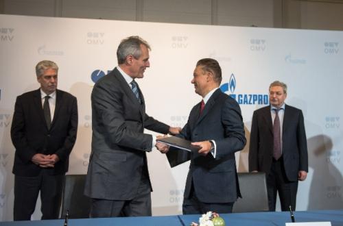 «Газпром» иOMV подписали обязывающее Базовое соглашение обобмене активами. Фото OMV AG