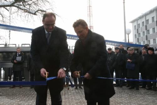 Генеральный директор ООО«Газпром трансгаз Москва» Александр Бабаков иАлексей Миллер приняли участие вторжественном открытии мультимедийного научно-познавательного Музея магистрального транспорта газа
