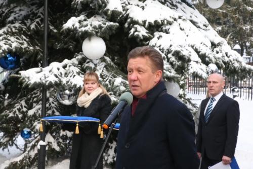 Алексей Миллер принял участие вторжественном открытии мультимедийного научно-познавательного Музея магистрального транспорта газа