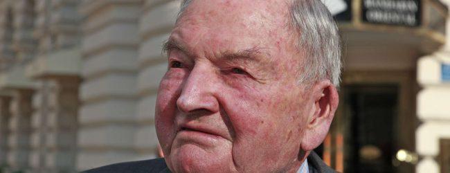В Нью-Йорке умер старейший миллиардер Дэвид Рокфеллер